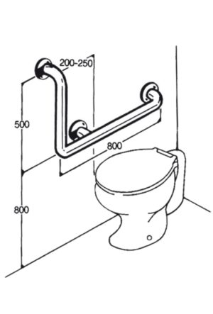 Toilet Rail - Type 02