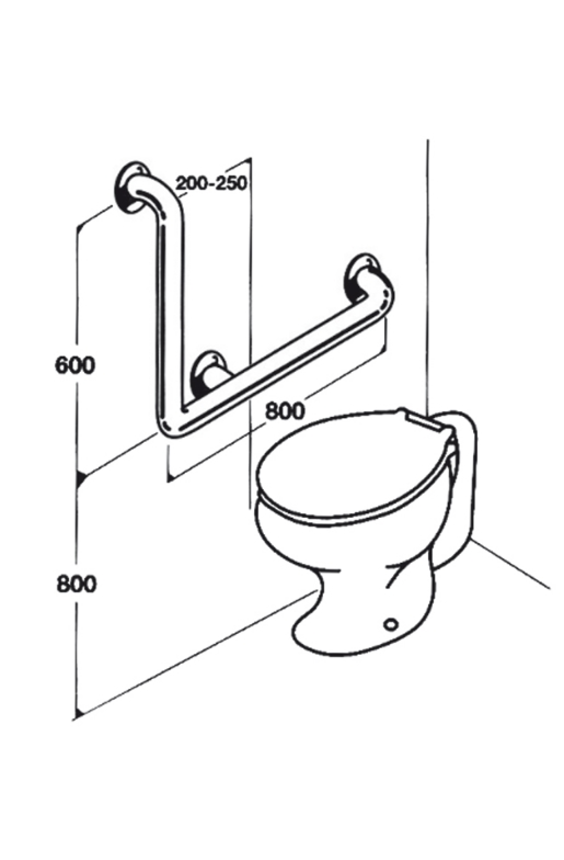 Toilet Rail - Type 03