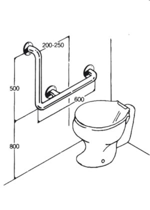 Toilet Rail - Type 04