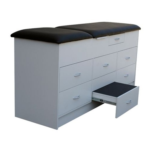 Cabinet Couch With Integrated Step