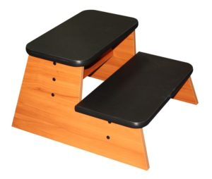 Timber Double Step-Up Stool
