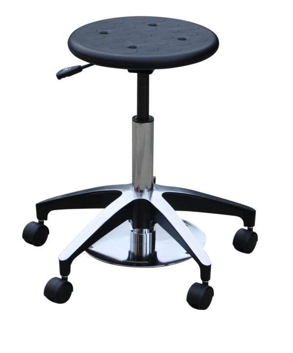 Foot Control Poly Top Surgeon Stool
