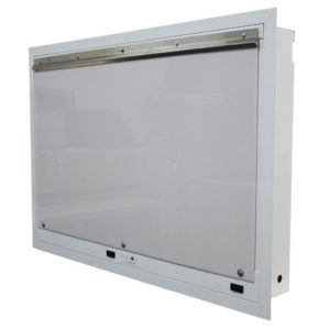 Double Bay X-Ray Viewer - Flush Mount