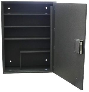 Drug Safe with 4 Shelves