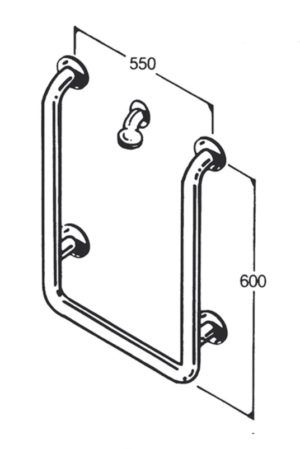 Bath/Shower Rail - Type 16