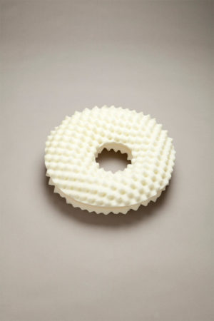 Convoluted Foam Ring Cushion