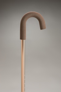 Adjustable Crook Handle Walking Stick