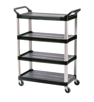 Rubbermaid X-Tra Utility 4 Shelf Cart