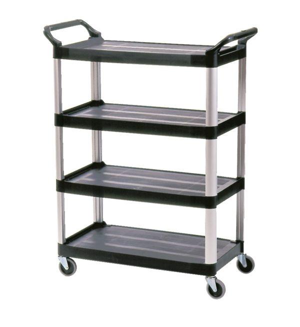 Rubbermaid X-Tra Utility 4 Shelf Cart