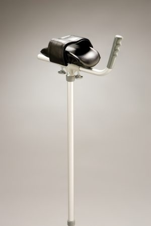 Forearm Gutter Crutch - Aluminium