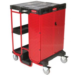 Rubbermaid Ladder Cart with locking system