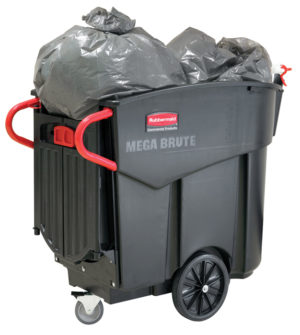 Rubbermaid Mega BRUTE Mobile Collector Cart
