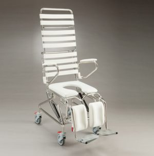 Tilting Mobile Shower Commode