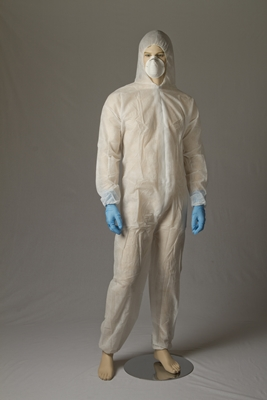 Polypropylene Coveralls - White