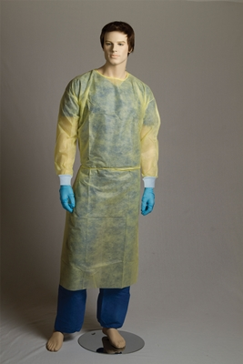 PP/PE Fluid Resistant Isolation Gown