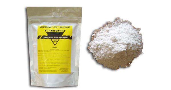 Biohazard Absorbent Sachet 500ml