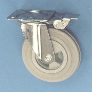 Swivel Plate Castor With Directional Lock