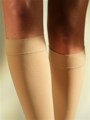 SIGVARIS COTTON CALF (A-D) WITH KNOBBED GRIP TOP CLASS 2 (23-32 MMHG)
