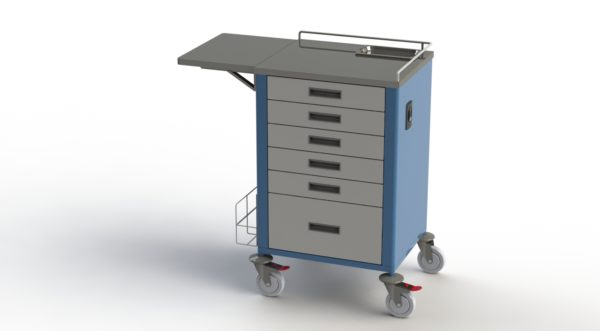 15-30 Unit Medication Trolley