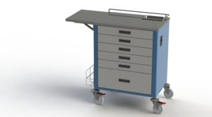 20-40 Unit Medication Trolley