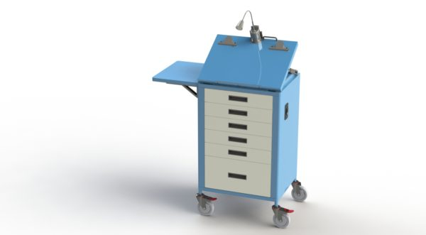 ICU Recovery Trolley