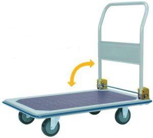 Rapini Jumbo Flat Bed Medium Platform Trolley