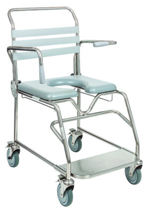 Mobile Shower Commode - Wide