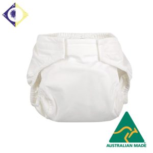 Incontinence front-fastening all-in-one pant