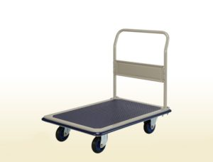 Fixed Handle Platform Flat Bed Trolley