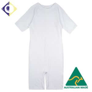 ADULT'S SHORT SLEEVE SHORT LEG BODY SUIT