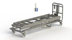 Rago Mortuary Standard Lifter