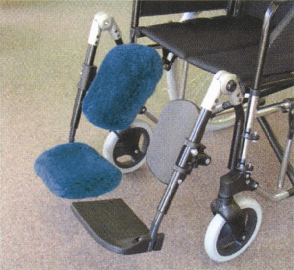 Shear Comfort® - Sheepskin Foot/Calf Plate Protector