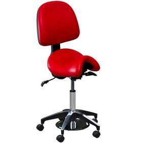 Foot Control Bambach Saddle Seat with Back
