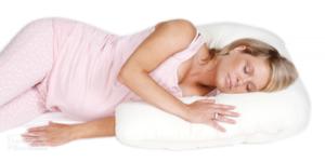 Side Snuggler Pillow - Side Sleeping Support