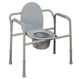 Bariatric Over Toilet Aid/Commode Chair