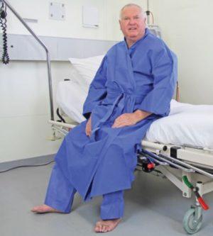 Haines Disposable Kimono Patient Gown