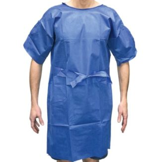 Haines Disposable Easy-Wrap No-Gap Gown