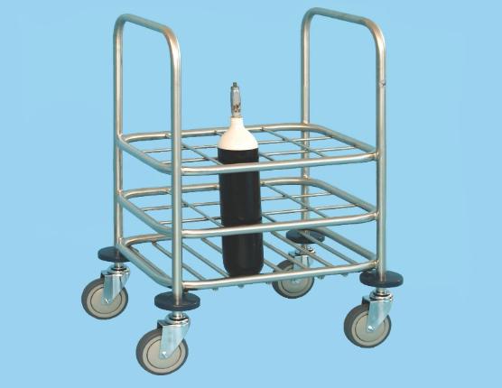 Cylinder Storage Trolley For C Size