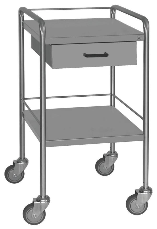 One Drawer Dressing Trolley