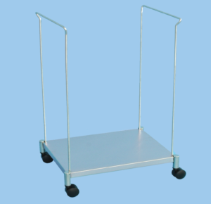 Open Waste Bag Trolley – 55cm Wide Bags