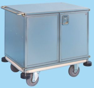 Instrument Trolley - Fully Enclosed