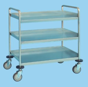 Service Trolley With Three Shelves