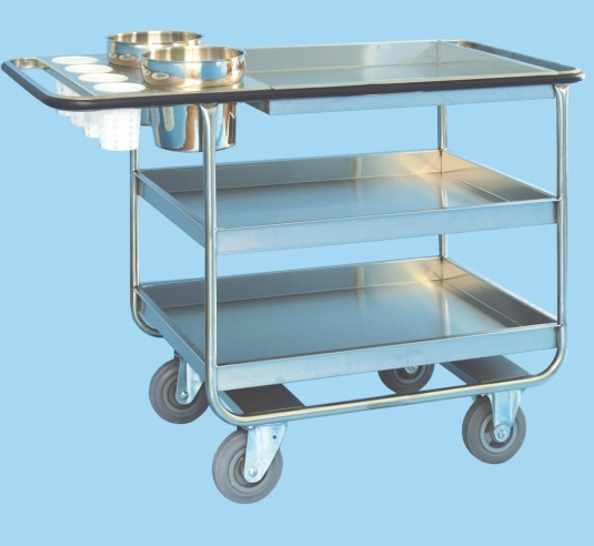 Clearing Trolley with Scrap Container