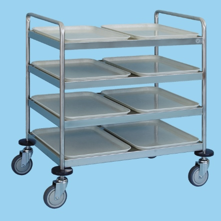 Service Trolley With Four Shelves