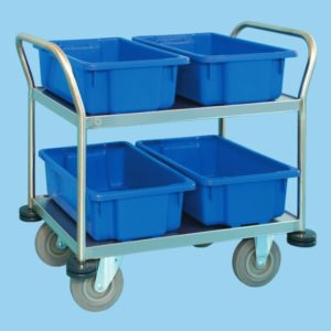Multipurpose Trolley With Four Containers