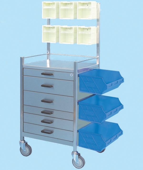 Anaesthetic Equipment Trolley