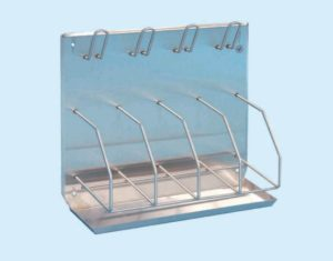 Bedpan/Bottle Rack - holds 4