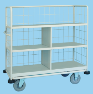 Clean Linen Trolley Partially Enclosed