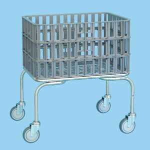 Laundry Basket Trolley