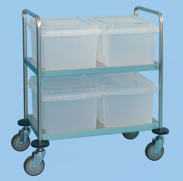 Medical Records Trolley